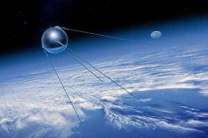 primer satélite artificial - Imagen del Sputnik 1