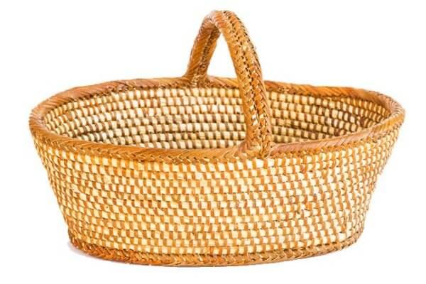 origen de la cestería