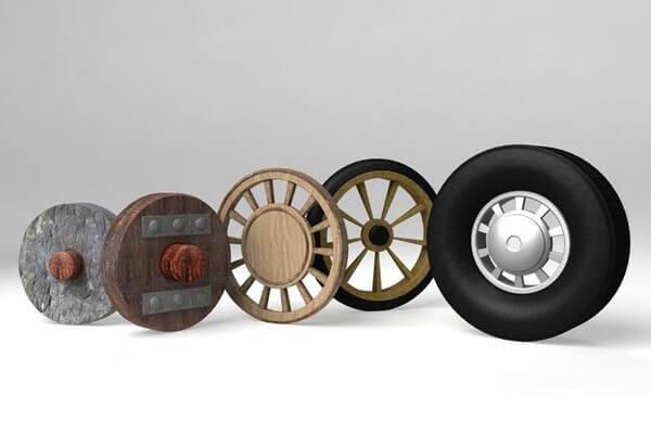 cual es el origen de la rueda