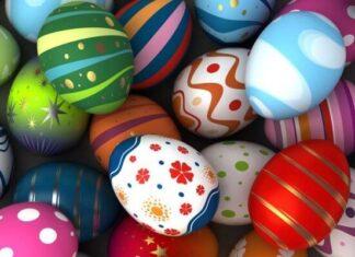 origen de los huevos de Pascua