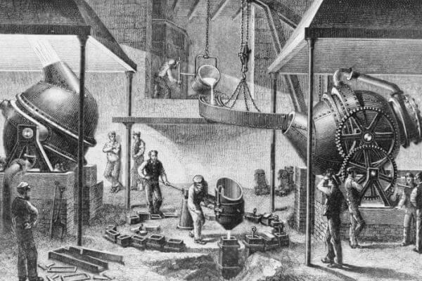 cuándo se creó el acero