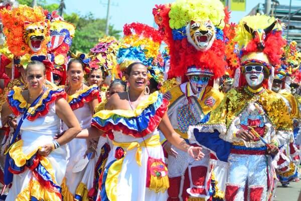 historia del carnaval en Colombia