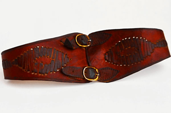 cuándo se inventó el cinturón