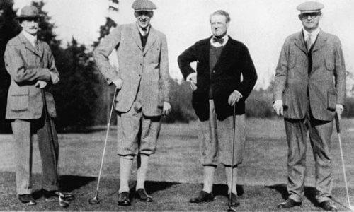 cuál es el origen del golf