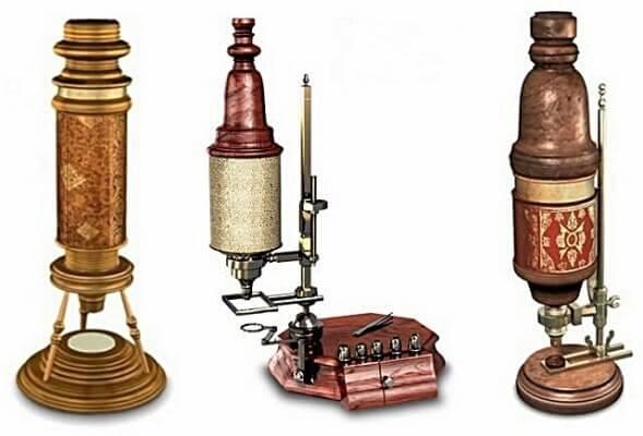 ¿Cómo se origino el microscopio?