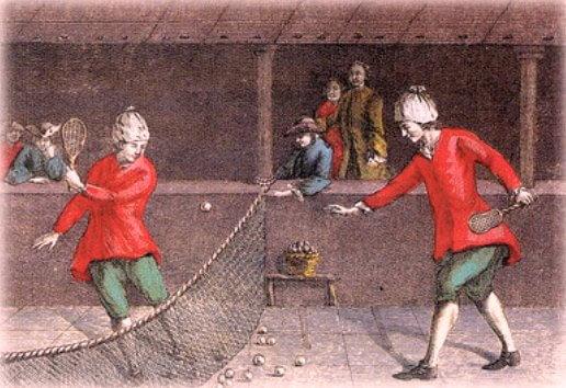 origen del tenis