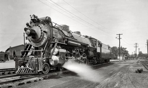 historia del ferrocarril España