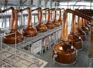 historia de los procesos de destilación