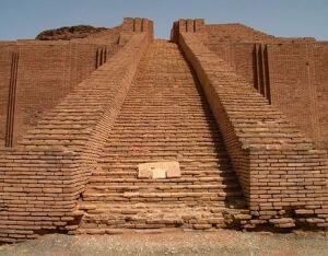 cual es la historia del zigurat de Ur