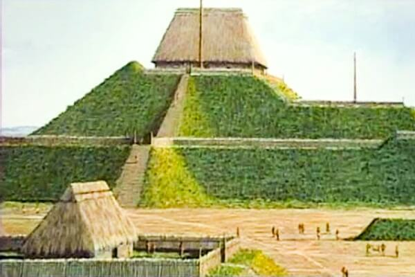 cuándo se construyó el túmulo del monje