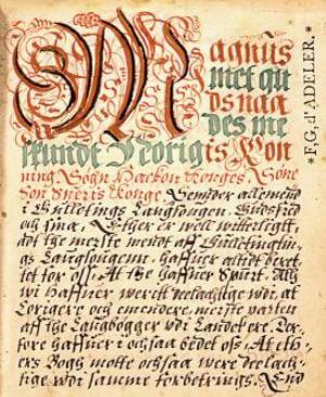 historia pacificación de Noruega