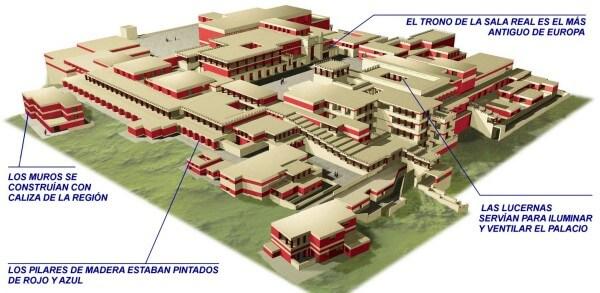 plano palacio cnosos