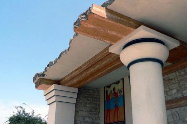 quién descubrió el palacio de Cnosos