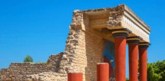 origen e historia palacio de cnosos o Minos