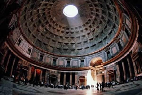 para qué servía el panteón de Roma