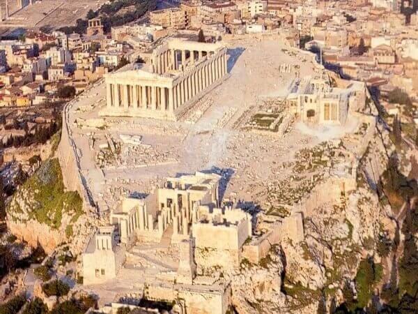 Partenón y Acrópolis