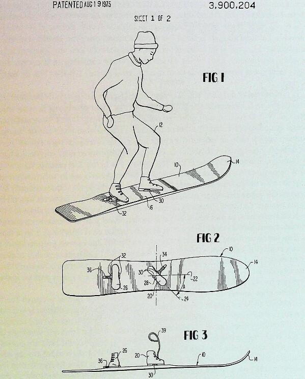 primera patente inventor sonowboard