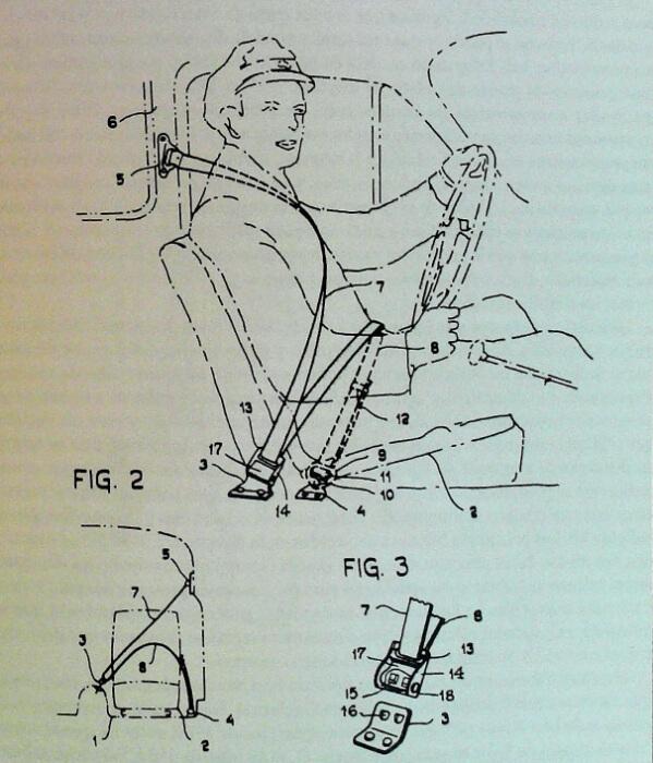 reseña histórica cinturón de seguridad