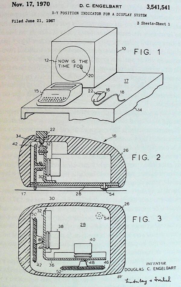 historia del ratón de ordenador