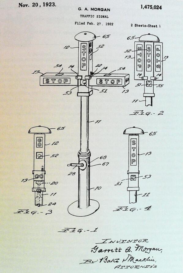 dónde se inventó el semáforo