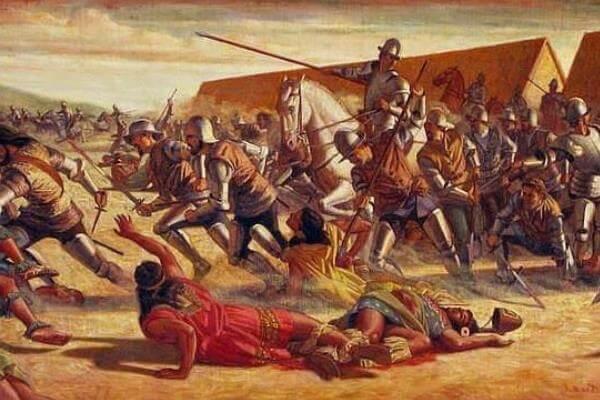 guerras españolas perú