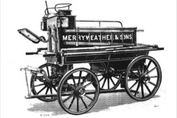 cuándo se creó el primer cuerpo de bomberos