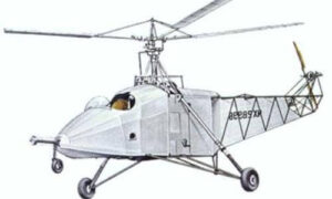 primer modelo helicóptero aeronave