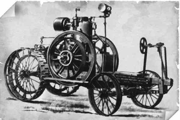 en qué año se inventó el tractor