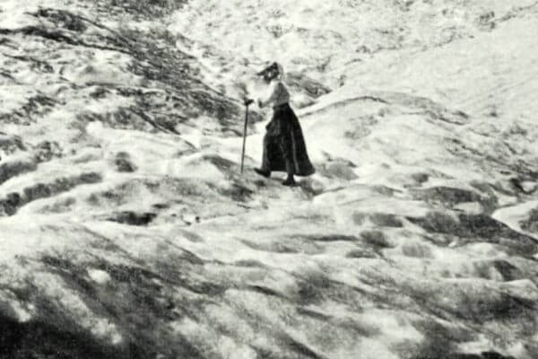 la primera alpinista de la historia