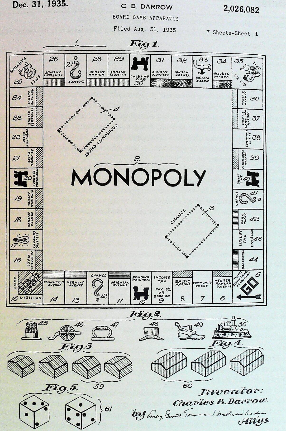 cuándo se inventó el monopoly