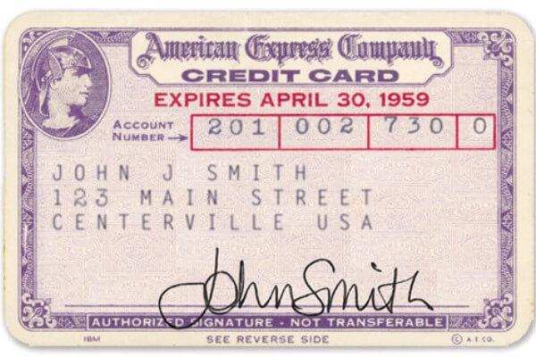 las primeras tarjetas de crédito