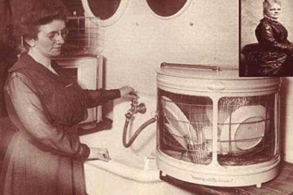 cuándo se inventó el lavavajillas - Josephine Cochrane inventó el lavaplatos en 1886