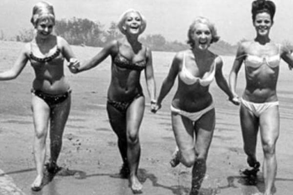 cuándo se inventó el bikini