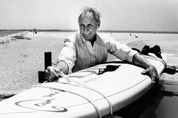 quién es el inventor del windsurf y en qué año