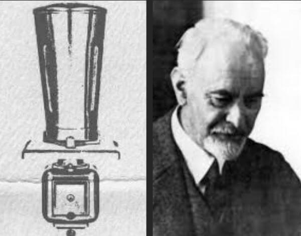 cuándo se inventó la licuadora