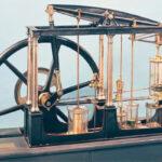 quién inventó la máquina de vapor