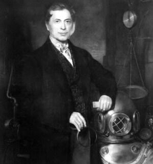 cuándo se inventó la escafandra - Augustus Siebe, el padre de la escafandra