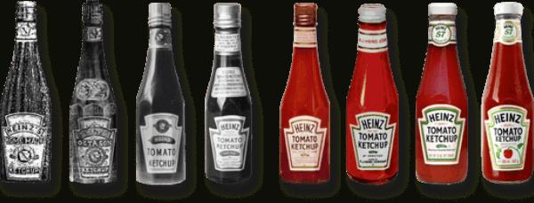 evolución del ketchup