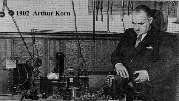 cuándo se inventó el fototelégrafo