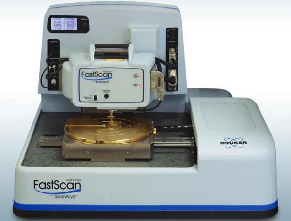 historia Microscopio de fuerza atómica