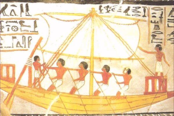 cuándo se inventó el barco velero