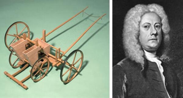 cuándo se inventó la sembradora mecánica - Jethro Tull, padre de la sembradora mecánica