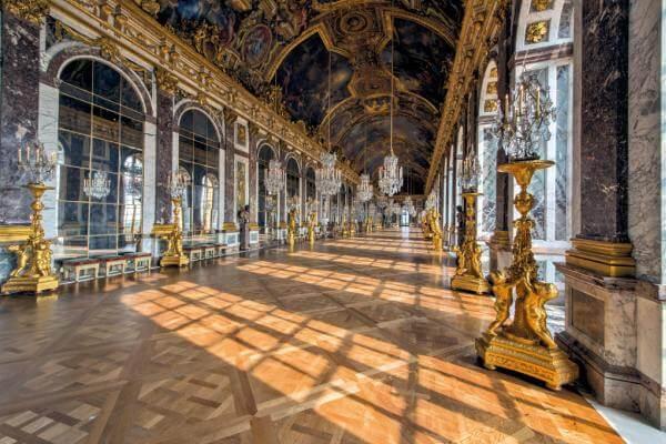 artículo histórico del Palacio de Versalles