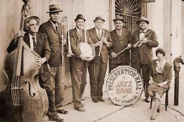 los primeros músicos de jazz