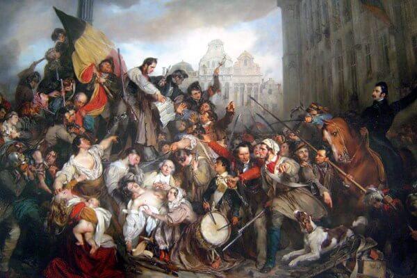 Historia de la revolución belga