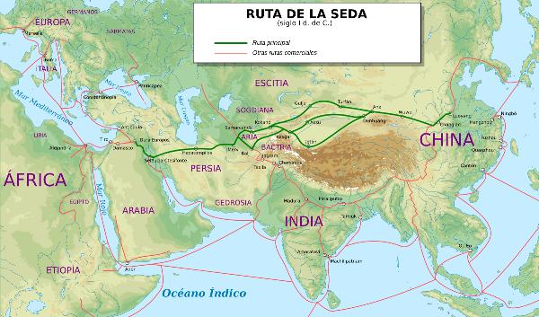 historia ruta de la seda China