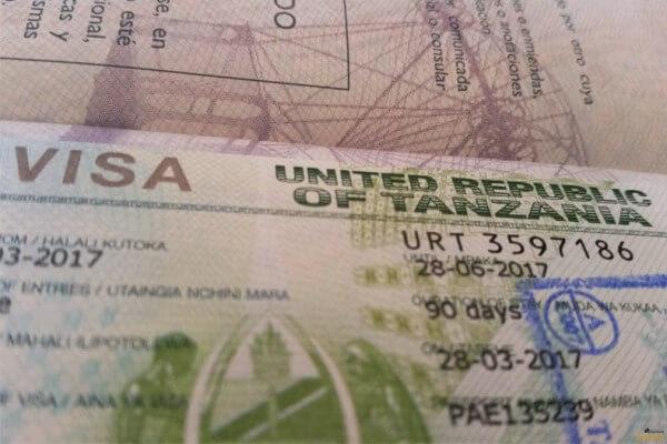 cómo obtener un visado para Tanzania