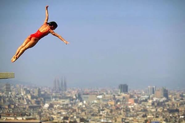 tipos de saltos de trampolin y palanca