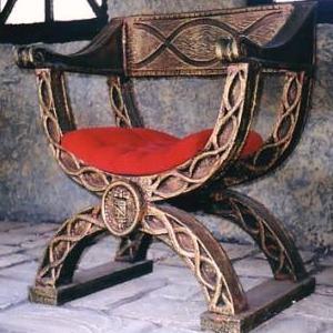 Historia de la silla imperio romano