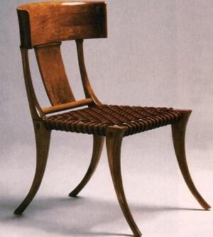 Historia de la silla antigua Grecia